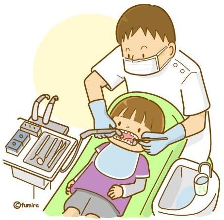 歯科治療のイラスト