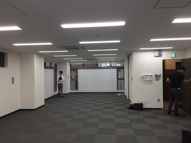 京都しみず整形外科内装工事前 (2)