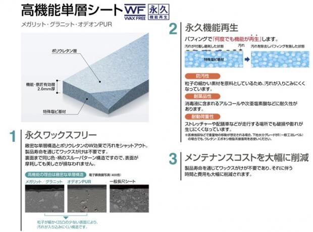 しみず整形外科診察室床材機能